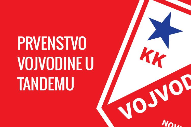 Tandemi Vojvodine 3/3 uz srebro na prvenstvu Vojvodine!