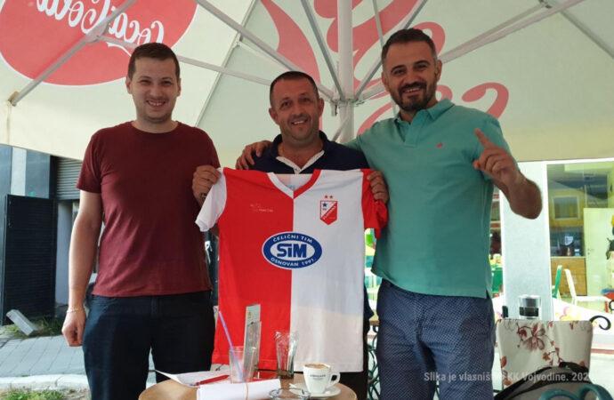 Vojislav Kovačević ponovo u crveno belom dresu
