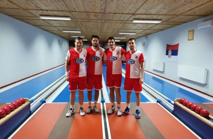 Tandem Gajin – Simonović bronzani na prvenstvu Vojvodine